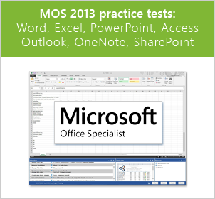 Microsoft Office Specialist Practice Test